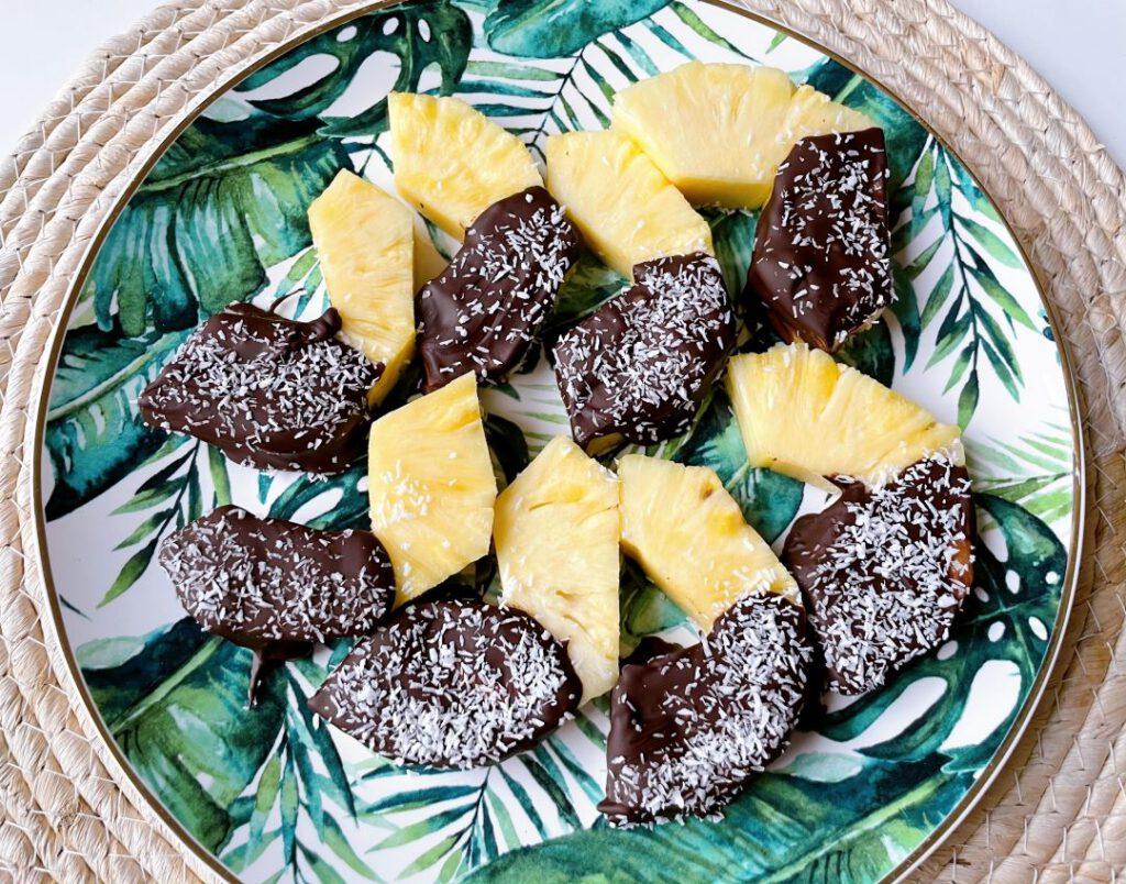 ananas chocolade