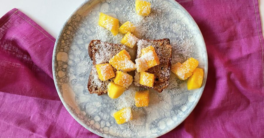 cake met mango